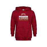 Youth Cardinal Fleece Hoodie-Pioneer Nation