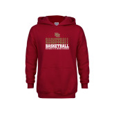 Youth Cardinal Fleece Hoodie-DU Basketball
