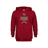 Youth Cardinal Fleece Hoodie-Pioneer Pride Hockey