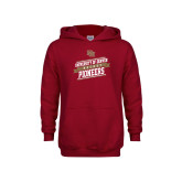 Youth Cardinal Fleece Hoodie-University of Denver Pioneers Hockey