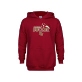 Youth Cardinal Fleece Hoodie-Pioneers Soccer