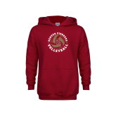 Youth Cardinal Fleece Hoodie-DU Volleyball