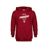 Youth Cardinal Fleece Hoodie-Pioneers LAX