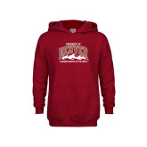 Youth Cardinal Fleece Hoodie-Lacrosse Capital
