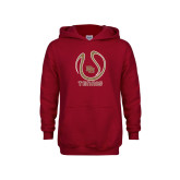 Youth Cardinal Fleece Hoodie-DU Tennis