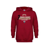 Youth Cardinal Fleece Hoodie-NCHC 2018 Ice Hockey Champions