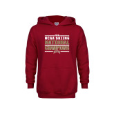 Youth Cardinal Fleece Hoodie-2018 NCAA Skiing National Champions