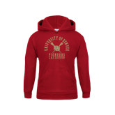 Youth Cardinal Fleece Hood-Arched University of Denver Lacrosse
