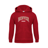 Youth Cardinal Fleece Hood-Rugby