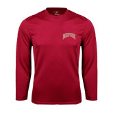 Syntrel Performance Cardinal Longsleeve Shirt-Arched Denver