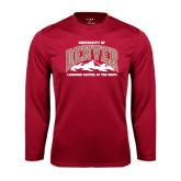 Syntrel Performance Cardinal Longsleeve Shirt-Lacrosse Capital of the West