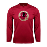 Syntrel Performance Cardinal Longsleeve Shirt-2016 National Skiing Champs