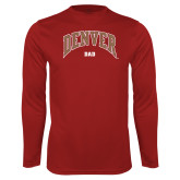 Performance Cardinal Longsleeve Shirt-Denver Dad