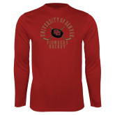 Performance Cardinal Longsleeve Shirt-Pioneers Hockey