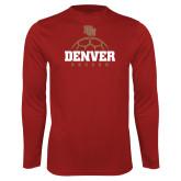 Performance Cardinal Longsleeve Shirt-Denver Soccer