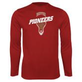 Performance Cardinal Longsleeve Shirt-Pioneers LAX