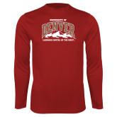 Performance Cardinal Longsleeve Shirt-Lacrosse Capital