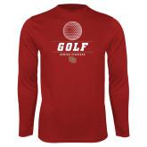 Performance Cardinal Longsleeve Shirt-Denver Golf