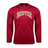 Syntrel Performance Cardinal Longsleeve Shirt-Arched Denver 2 Color Version