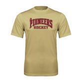 Syntrel Performance Vegas Gold Tee-JR Pioneers Hockey
