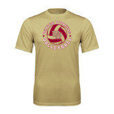 Syntrel Performance Vegas Gold Tee-Volleyball Stars Design