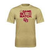 Syntrel Performance Vegas Gold Tee-Tennis Game Set Match