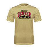 Syntrel Performance Vegas Gold Tee-Lacrosse Capital of the West
