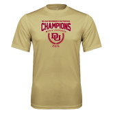 Syntrel Performance Vegas Gold Tee-NCAA Division I Lacrosse Champs