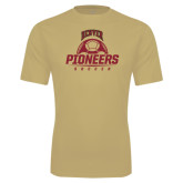 Syntrel Performance Vegas Gold Tee-Pioneers Soccer Half Ball