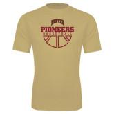 Syntrel Performance Vegas Gold Tee-Pioneers Basketball Half Ball
