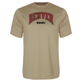 Performance Vegas Gold Tee-Denver Rugby