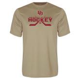 Performance Vegas Gold Tee-University of Denver Hockey