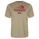 Performance Vegas Gold Tee-Pioneers Lacrosse Denver