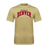 Syntrel Performance Vegas Gold Tee-Arched U of Denver 2 Color Version