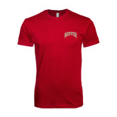 Next Level SoftStyle Cardinal T Shirt-Arched Denver