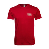 Next Level SoftStyle Cardinal T Shirt-DU