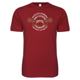 Next Level SoftStyle Cardinal T Shirt-2018 Big East Mens Lacrosse Championship