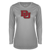 Ladies Syntrel Performance Platinum Longsleeve Shirt-DU