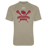 Under Armour Vegas Gold Tech Tee-DU Crossed Lacrosse Sticks