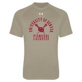 Under Armour Vegas Gold Tech Tee-Arched University of Denver Lacrosse