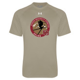 Under Armour Vegas Gold Tech Tee-Skier Jumping Ski Design