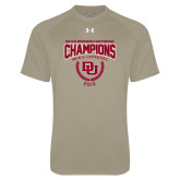 Under Armour Vegas Gold Tech Tee-NCAA Division I Lacrosse Champs