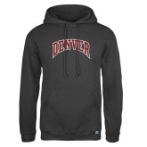 Russell DriPower Charcoal Fleece Hoodie-Primary Mark