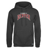 Russell DriPower Charcoal Fleece Hoodie-University of Denver
