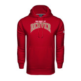 Under Armour Cardinal Performance Sweats Team Hoodie-Arched University of Denver