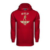 Under Armour Cardinal Performance Sweats Team Hoodie-Golf Stacked