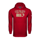 Under Armour Cardinal Performance Sweats Team Hoodie-Golf Tee Off