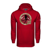 Under Armour Cardinal Performance Sweats Team Hoodie-Skier Jumping Ski Design