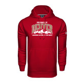 Under Armour Cardinal Performance Sweats Team Hood-Lacrosse Capital of the West