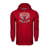Under Armour Cardinal Performance Sweats Team Hoodie-Lacrosse 50th Anniversary